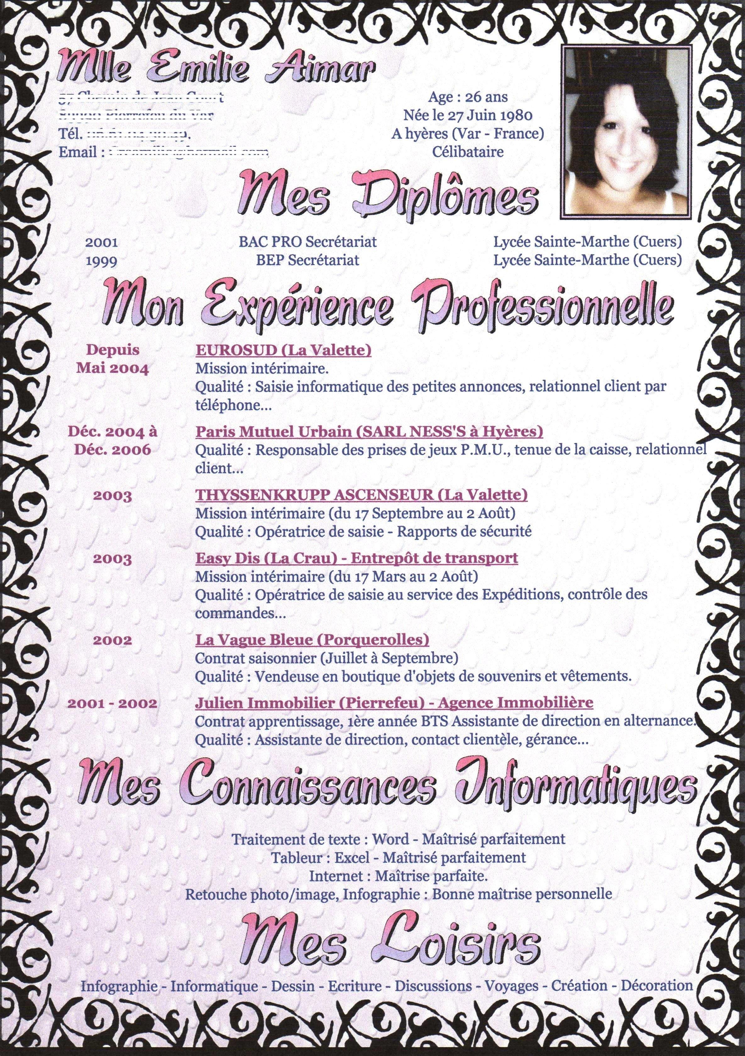 CV 2007